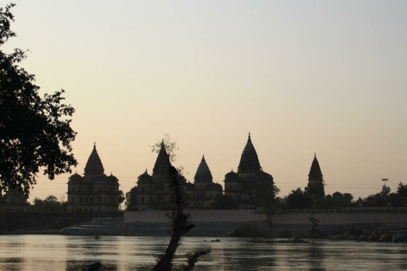 Cenotaphs (Chhattris) at Orchha